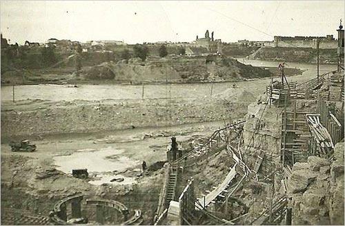 Строительство Нарвской ГЭС