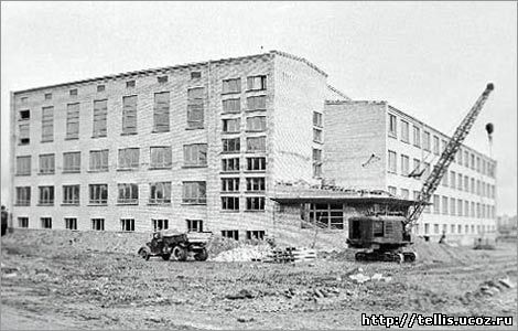 строительство школы №6