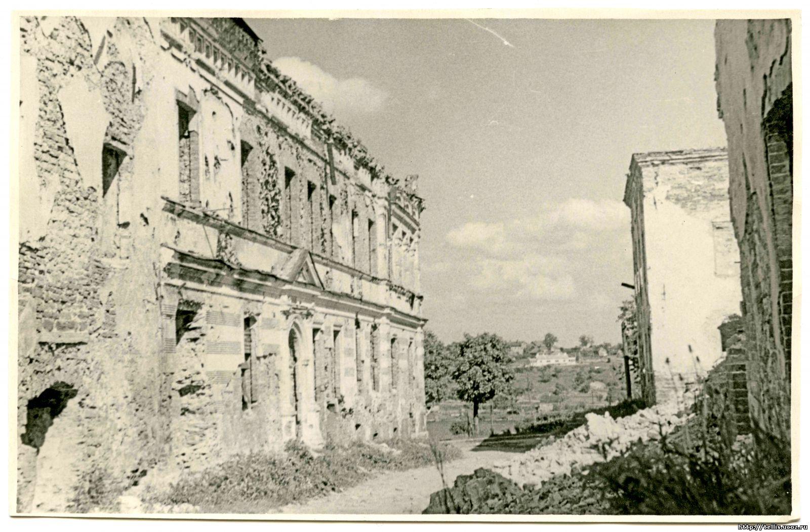 Ул. Рюютли.  Дом Лаврецовых в 1953 году