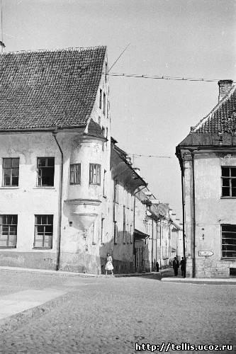 участок улицы Рюютли, там где её пересекает ул. Пагари
