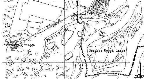 карта 1905г